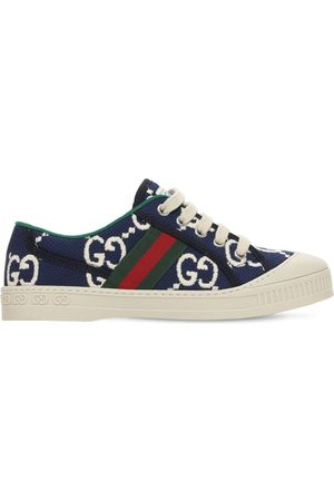 Gucci Gg Stretch Cotton Sneakers