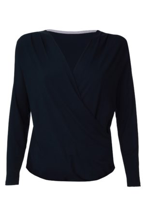 Lavender Hill Clothing Wrap Top