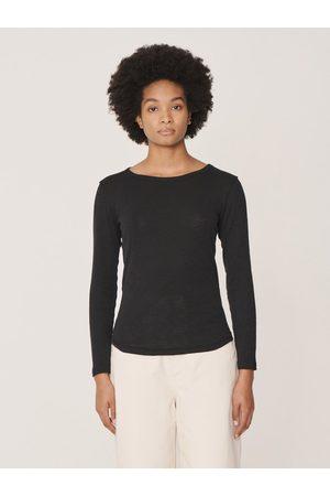 YMC Women Long Sleeve - Charlotte Long Sleeve T-Shirt in