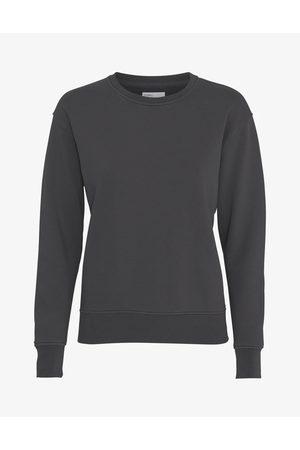 Colorful Standard Women Sweatshirts - Classic Organic Crew Sweatshirt - Lava Grey