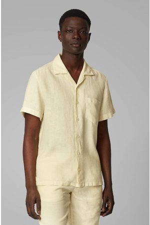 HUGO BOSS OUTLET Rhythm Linen Short Sleeve Shirt