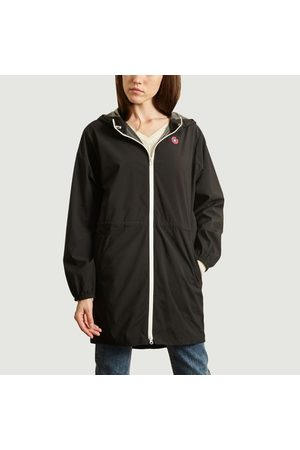 Flotte Amelot recycled canvas long raincoat Ombre