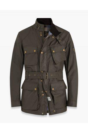 Belstaff Trialmaster Wax Belted Jacket