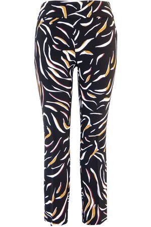 "Up Pants Women Straight - 67037 Techno 28"" Leg Straight Hem Trousers - Spin"