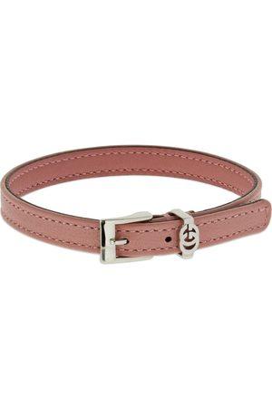 Gucci Interlocking G Leather Bracelet