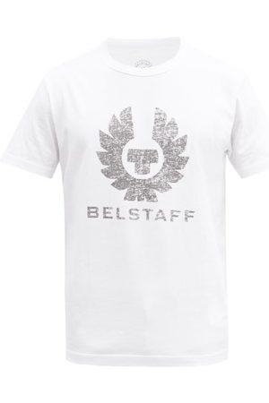 Belstaff Coteland 2.0 Logo-print Cotton-jersey T-shirt - Mens