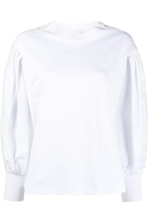 Chloé Lace-trim blouse
