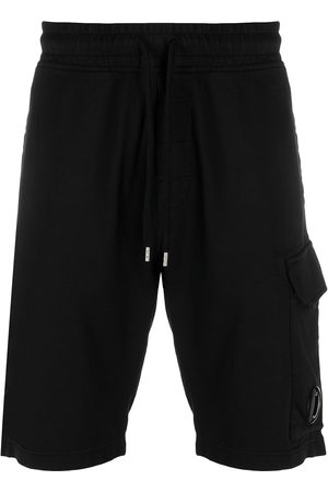 C.P. Company Multi-pocket drawstring waist shorts