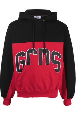 GCDS Men Hoodies - Logo colour-block hoodie