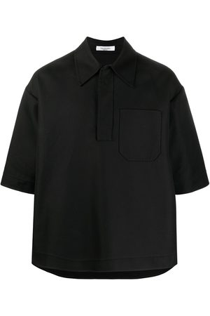 VALENTINO Men Polo Shirts - Double-faced cotton polo shirt