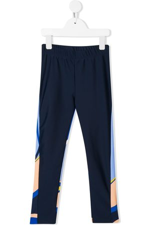 Emilio Pucci Colour block track pants
