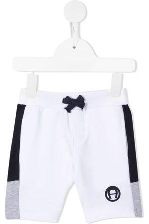 Aigner Shorts - Colour-block track shorts