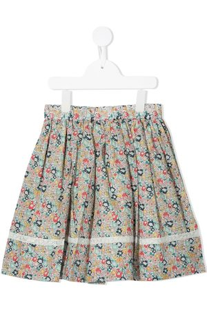 BONPOINT Ditsy floral-print pleated skirt