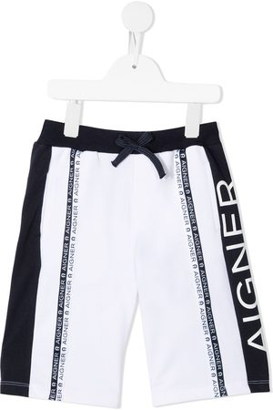 Aigner Logo stripe shorts