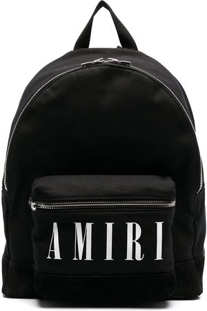 AMIRI Logo-print cotton back