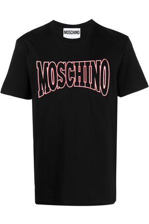 Moschino Logo embroidered short sleeve T-shirt