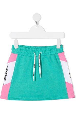 Msgm Side logo mini skirt