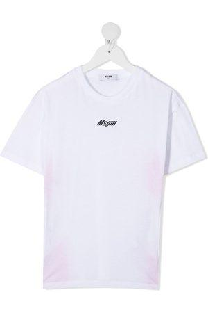 Msgm Girls T-shirts - Logo print T-shirt