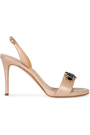 Giuseppe Zanotti Gemstone embellished stiletto sandals