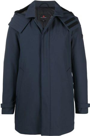 Peutery Logo patch rain jacket