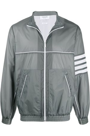 Thom Browne 4-Bar stripe jacket - Grey