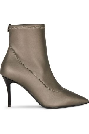Giuseppe Zanotti Pointed leather ankle boots - Grey