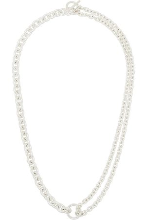 ALL BLUES Men Necklaces - Sterling chain-link necklace