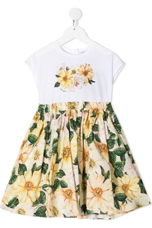 Dolce & Gabbana Girls Casual Dresses - Floral-print dress