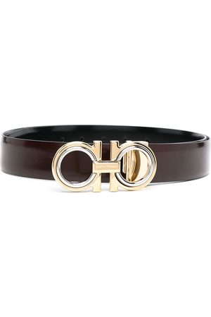 Salvatore Ferragamo Men Belts - Gancini buckle belt