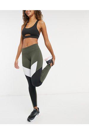 Reebok Leggings - Training leggings in khaki
