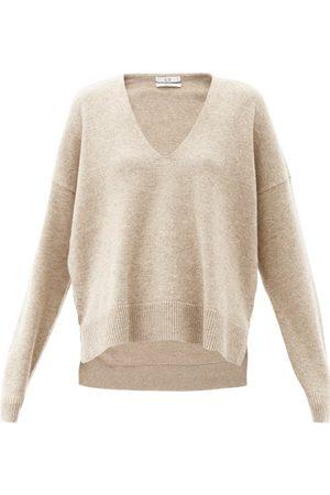 CO V-neck Wool-blend Sweater - Womens