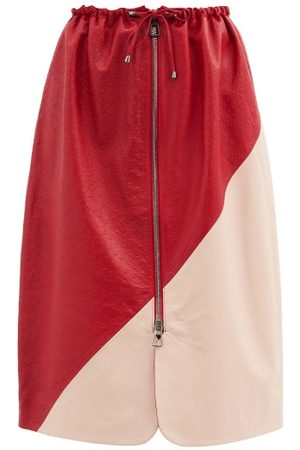 DODO BAR OR Women Leather Skirts - Jonna Drawstring Leather Skirt - Womens - Multi