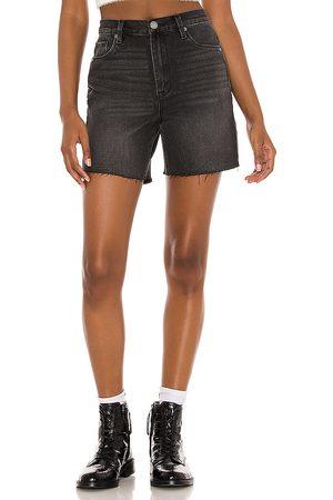 BLANK NYC Cut Off Shorts in Black.