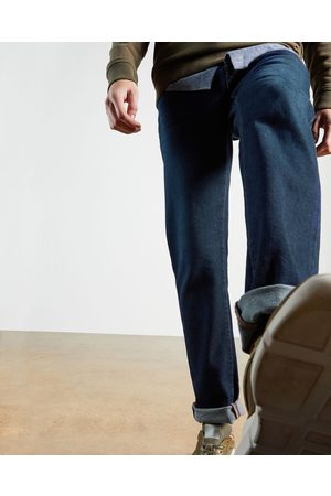 Ted Baker Straight Leg Mid Wash Denim Jean
