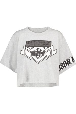 MM6 MAISON MARGIELA Logo cotton-jersey T-shirt