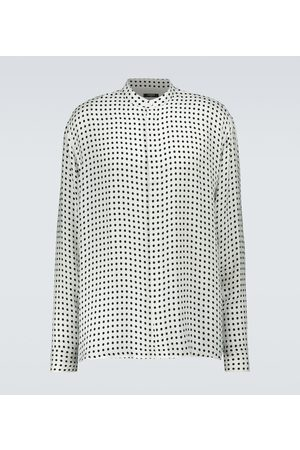 Balmain Long-sleeved printed shirt