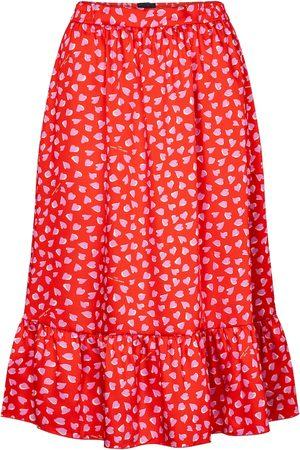 Marc Jacobs Heart-print midi skirt