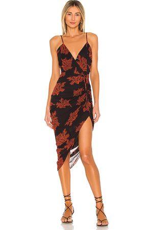 Karina Grimaldi Marissa Print Dress in .