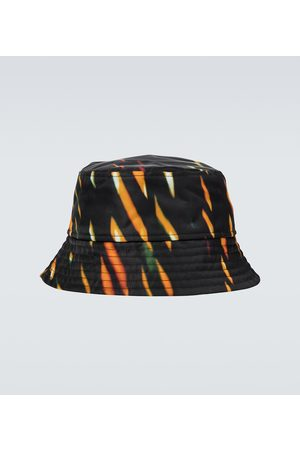 DRIES VAN NOTEN Graphic printed bucket hat