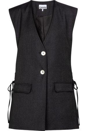 Ganni Wool-blend vest