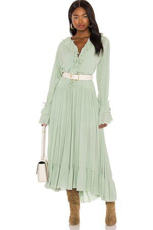 Free People Sweet Darlin Maxi Dress in Mint.