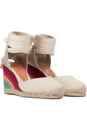 Castaner X Paul Smith Carina wedge espadrilles