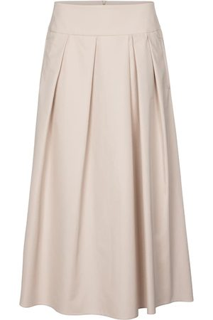 Max Mara Ardenza cotton midi skirt
