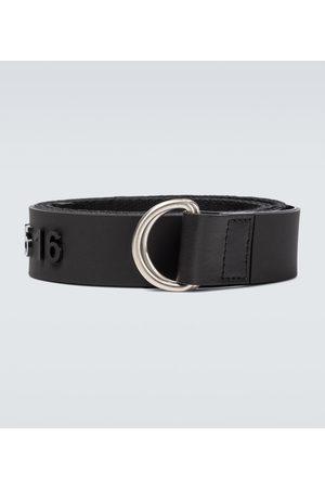 Maison Margiela Leather logo belt