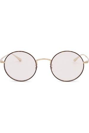 The Row X Oliver Peoples After Midnight round glasses