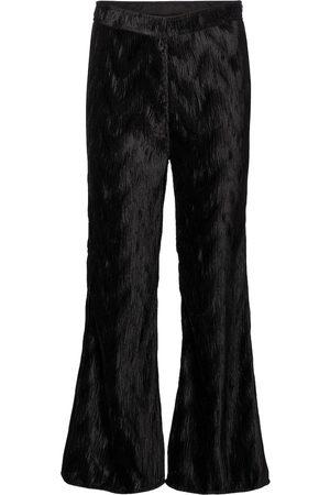 Ganni Pleated satin pants
