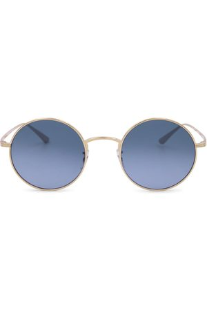 The Row X Oliver Peoples After Midnight round sunglasses