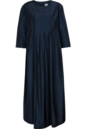 Max Mara Galosce pleated midi dress