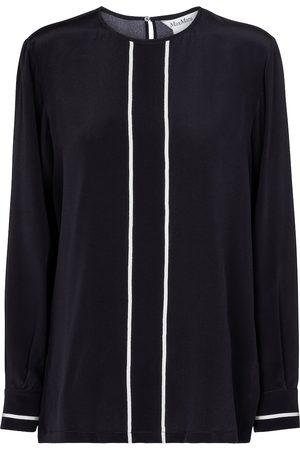 Max Mara Filovia silk crêpe blouse