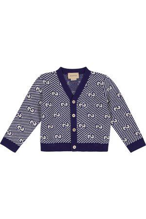 Gucci Baby GG wool cardigan